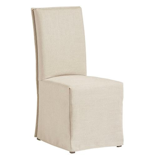 Slipcovered Accent Chair- 1/CTN - Off-White Finish