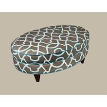 Essentially Yours Oval Storage Ottoman