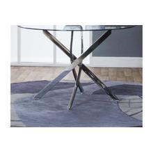 Bravo-chrome Table Base