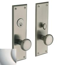 View Product - Polished Nickel with Lifetime Finish Baltimore Entrance Trim