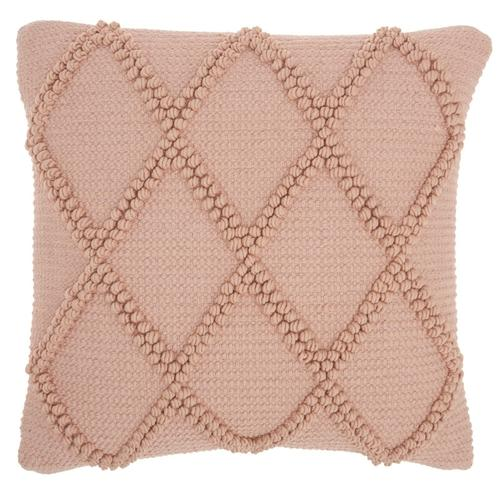 "Life Styles Gc101 Blush 18"" X 18"" Throw Pillow"