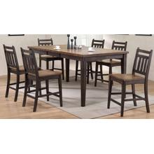 View Product - Rustic Two Tone Gathering Table and Barstools