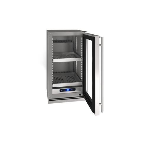 "18"" Refrigerator With Stainless Frame Finish (230 V/50 Hz Volts /50 Hz Hz)"
