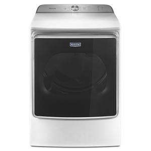 MaytagTop Load Dryer with the PowerDry System and Extra Moisture Sensor - 9.2 cu. ft. White