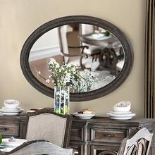 See Details - Arcadia Oval Mirror