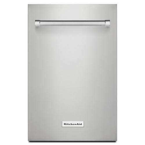 "KitchenAid - KitchenAid 18"" Dishwasher Panel Kit - Stainless Steel Stainless Steel"