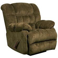 Contemporary Columbia Mushroom Microfiber Rocker Recliner
