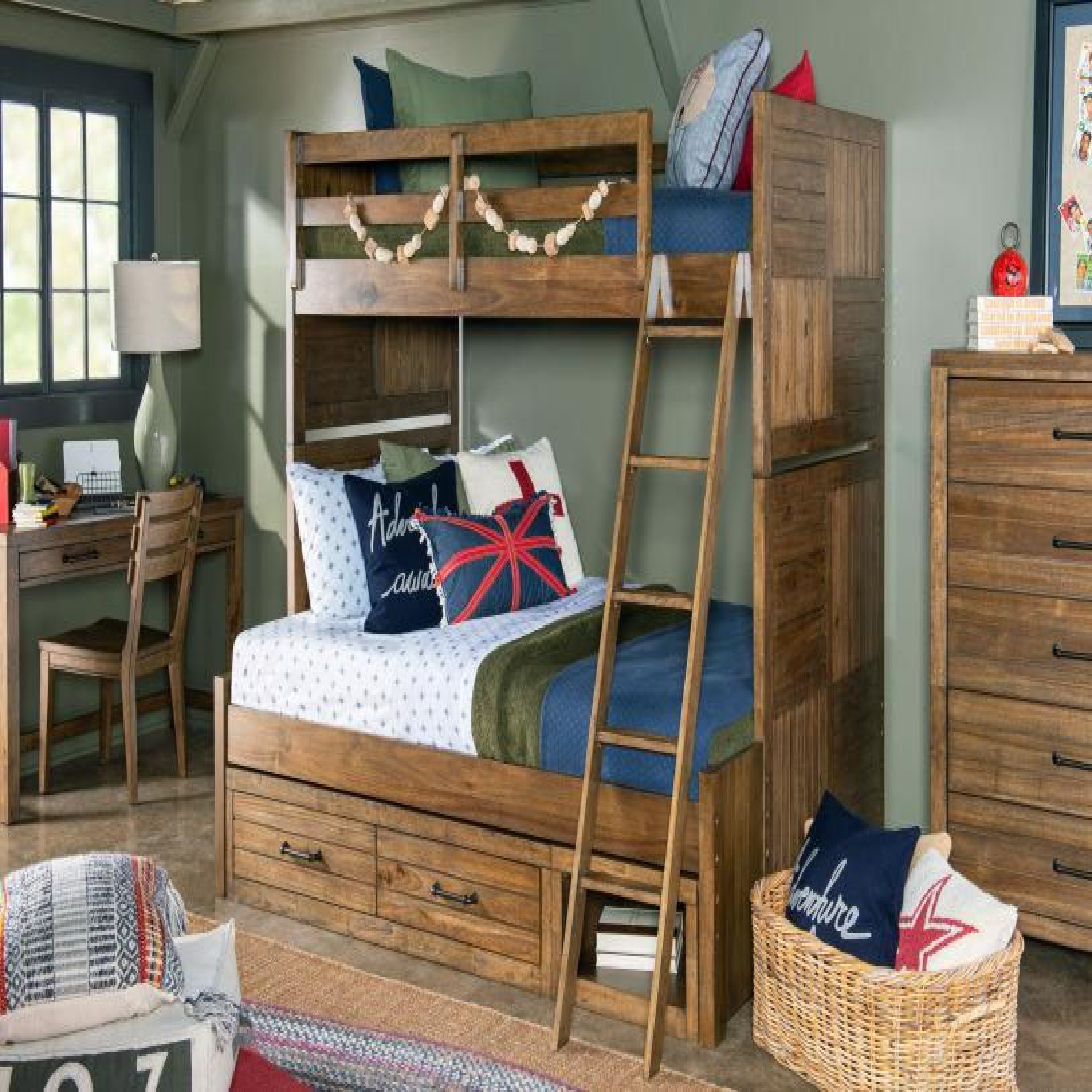 See Details - Summer Camp - Brown Underbed Storage Unit