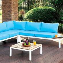 See Details - Winona Patio Sectional W/ Ottoman