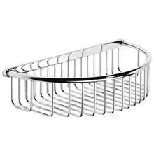 "See Details - Antique Gold Shower basket with concealed fix, 10 1/4"" W x 2 7/16"" D"