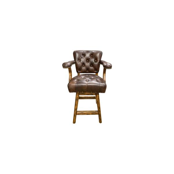 See Details - Ranch Tufted Barstool/counterstool