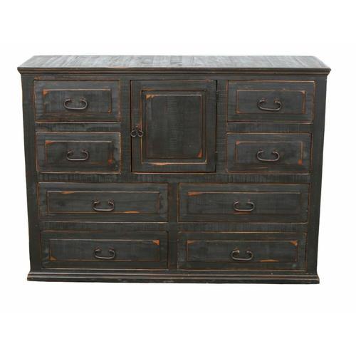 Million Dollar Rustic - Stone Brown Econo Dresser