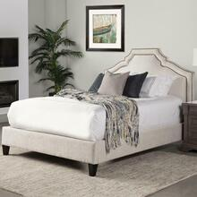 See Details - CASEY - LACE Upholstered Bed Collection (Natural)