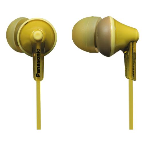 ErgoFit In-Ear Earbud Headphones - Yellow - RP-HJE125-Y