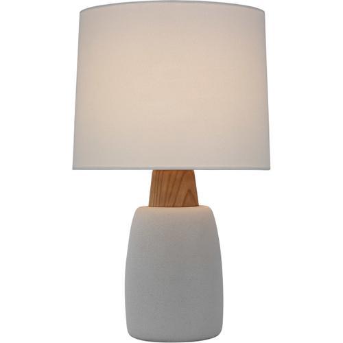 Barbara Barry Aida 29 inch 15.00 watt Porous White and Natural Oak Table Lamp Portable Light, Large