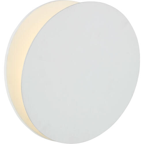 AERIN Gabriela LED 12 inch Matte White Round Wall Washer Wall Light