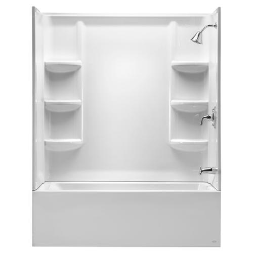 "Studio 60x32"" Bathtub Wall Set - Arctic White"