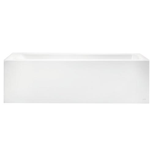 Studio 60x32-inch Bathtub - Above Floor Rough with Built-In Apron - Right Drain  American Standard - Arctic White