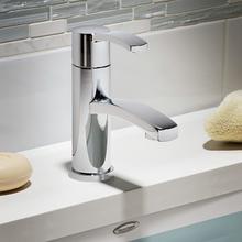 Berwick Monoblock Bathroom Faucet - Polished Chrome