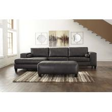 See Details - COMING SOON!!! Nokomis - Charcoal 2 Piece Sectional - LAF Chaise