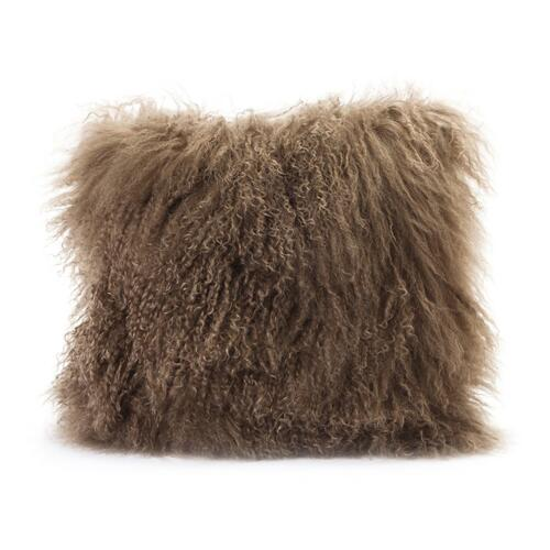 Moe's Home Collection - Lamb Fur Pillow Natural