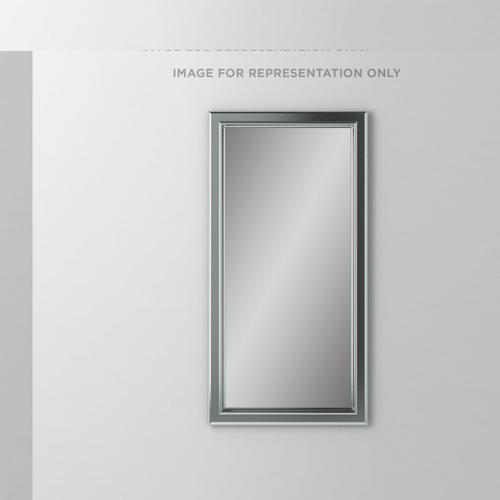"""Main Line 23-1/8"""" X 39-7/8"""" X 1-5/8"""" Bryn Mawr Framed Mirror In Brushed Nickel"""