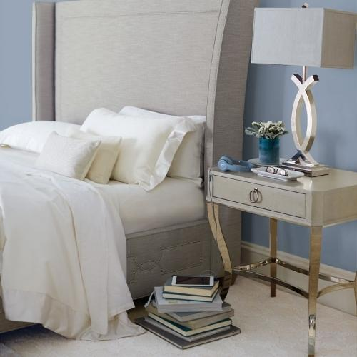 Gallery - King-Sized Criteria Upholstered Bed in Heather Gray (363)