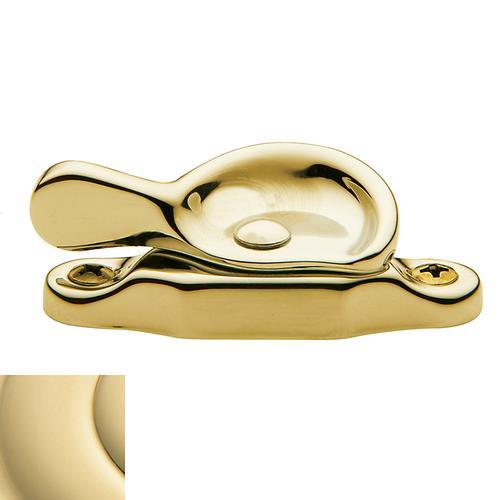 Baldwin - Non-Lacquered Brass Sash Lock