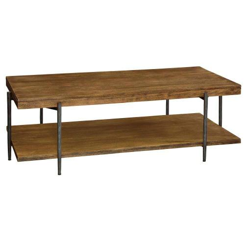 2-3701 Bedford Park Rectangular Coffee Table with Shelf
