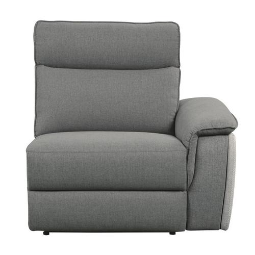 Power Double Reclining Love Seat with Center Console and Power Headrests