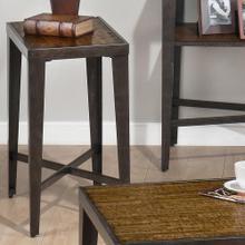 Chairside Table W/ Faux Antique Ash