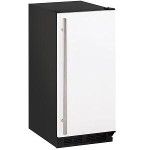 "U-LineClr1215 15"" Clear Ice Machine With White Solid Finish, No (115 V/60 Hz Volts /60 Hz Hz)"