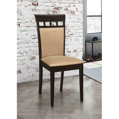 Product Image - Gabriel Casual Beige and Cappuccino Dining Chair