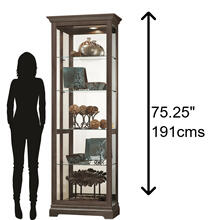 Howard Miller Brantley III Curio Cabinet 680673