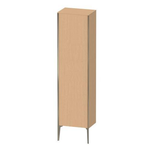 Duravit - Tall Cabinet Floorstanding, Brushed Oak (real Wood Veneer)