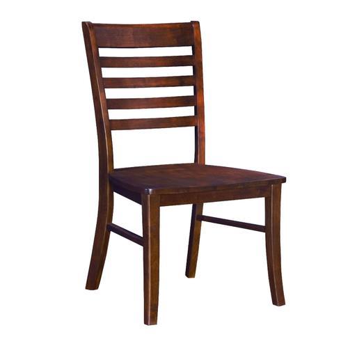 John Thomas Furniture - Roma Chair in Espresso