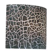 Product Image - Discontinued Crackled Black Glass Shade, Type G 60w