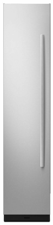 """Euro-Style 18"""" Built-In Column Panel Kit - Left-Swing Stainless Steel"""