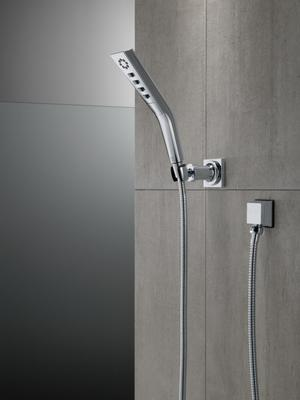 Chrome H 2 Okinetic ® 3-Setting Wall Mount Hand Shower Product Image