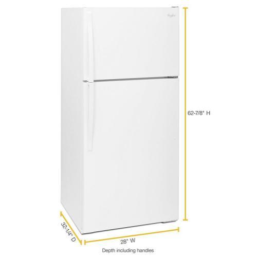 Gallery - 28-inch Wide Top Freezer Refrigerator - 14 Cu. Ft.