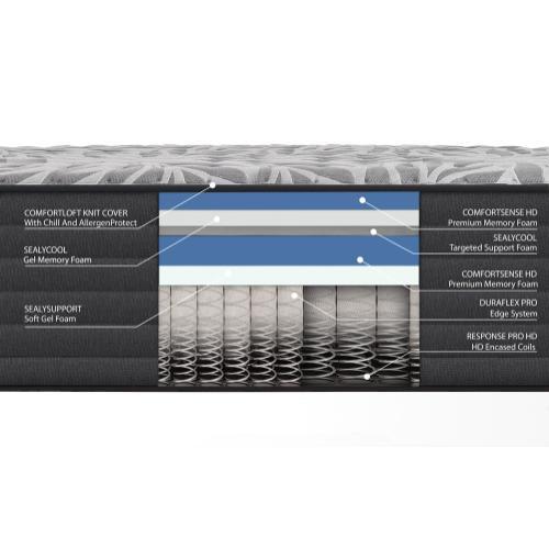 Response - Response - Posturepedic Plus - Victorious II - Ultra Soft - Twin XL