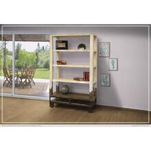 """See Details - 70"""" Bookcase, White finish"""