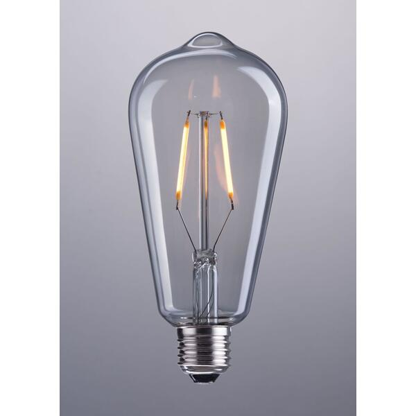 See Details - E26 St64 2w Led 146 X 64 Mm Clear