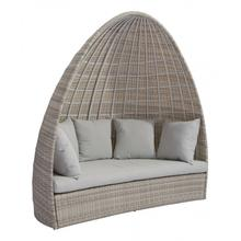See Details - Valencia Daybed White & Gray