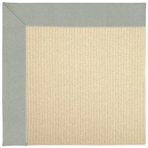 "Creative Concepts-Beach Sisal Canvas Spa Blue - Rectangle - 24"" x 36"""