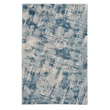 Brushstrokes Prussian Blue Machine Woven Rugs