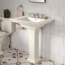 View Product - Town Square S Pedestal Sink  American Standard - Linen