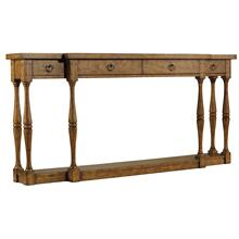 See Details - Sanctuary Four-Drawer Thin Console - Drift