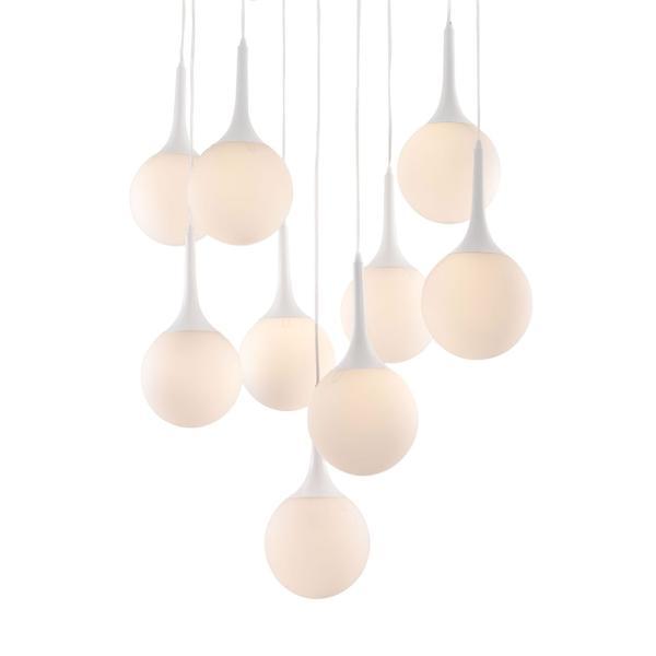 See Details - Epsilon Ceiling Lamp White