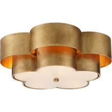 View Product - AERIN Arabelle 4 Light 20 inch Gild Flush Mount Ceiling Light, Large